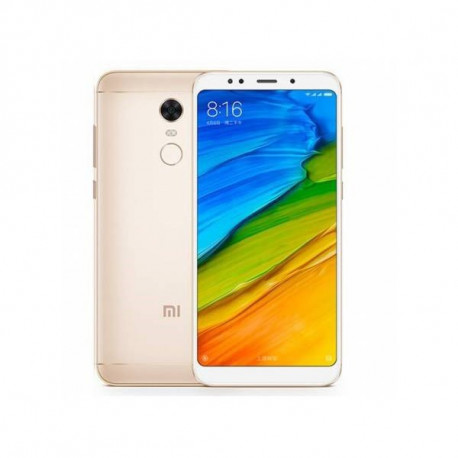 "TELEFONO MOVIL XIAOMI REDMI 5 PLUS ORO 4G 5.9""-OC2.0-4GB-64"